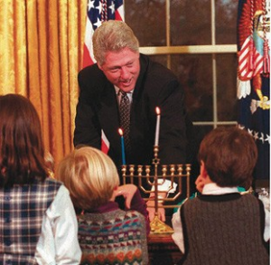 Bill Clinton Hanukkah