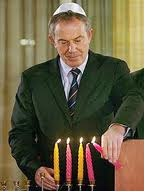 Tony Blair Hanukkah